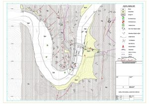 baraj yeri jeoloji haritası